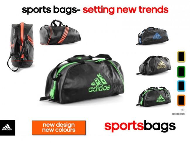 releasedatum enorme korting op voet beelden van adidas Super Sporttas Zwart/Groen