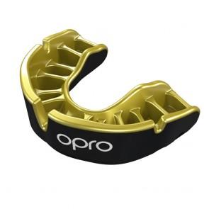OPRO Gebitsbeschermer Self-Fit Gold Zwart/Goud