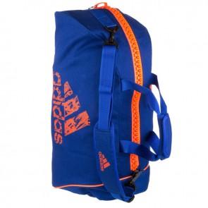 adidas Super Sporttas 2-in-1 Blauw/Oranje