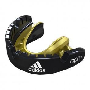 adidas gebitsbeschermer OPRO Gen4 Voor Beugel Zwart Senior