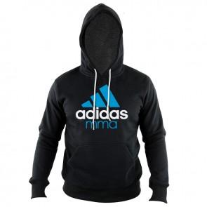 adidas Community Hoodie Zwart/Blauw MMA