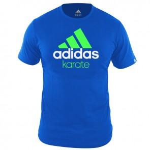 adidas Community T-Shirt Blauw/Groen Karate