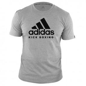 adidas T-Shirt Kickboxing Community Grijs/Zwart