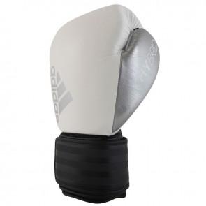 adidas Hybrid 200 (Kick)Bokshandschoenen Wit/Zwart/Zilver