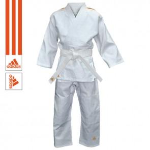 adidas Judopak Evolution II Wit/Oranje