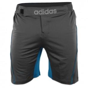adidas Training MMA Short Grijs/Blauw