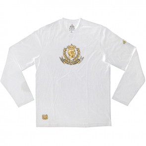 adidas Leisure T-shirt Long Sleeve wit/zwart