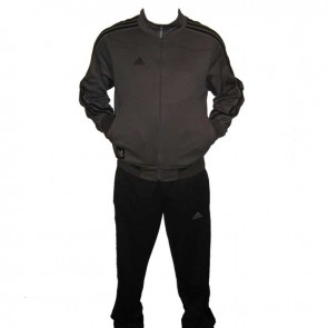 adidas Jersey Tracksuit zwart/grijs