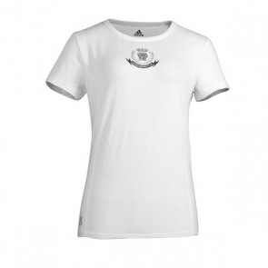 adidas shirt sleeve ladies T-shirt wit