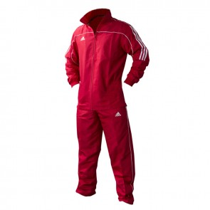 adidas Team Track Trainingsjack Rood/Wit