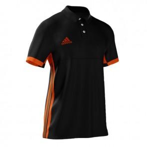adidas T16 MiTeam Polo Men Zwart/Oranje