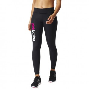 adidas Ultimate Fit Lange Legging PinkBoxing Logo