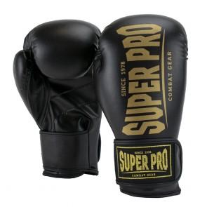 Super Pro Combat Gear Champ SE (kick)bokshandschoenen Zwart/Goud
