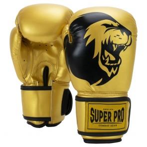 Super Pro Combat Gear Talent (kick)bokshandschoenen Goud/Zwart