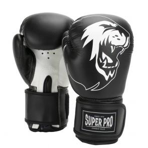 Super Pro Combat Gear Talent (kick)bokshandschoenen Zwart/Wit