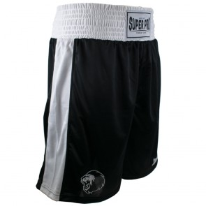 Super Pro Combat Gear Club Boksshort Zwart/Wit