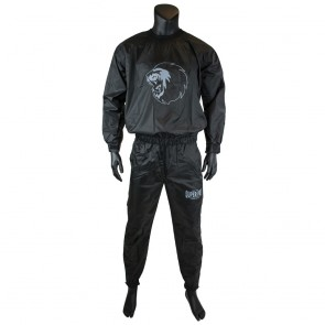 Super Pro Combat Gear Zweetpak/ Sweat Suit Zwart/Wit