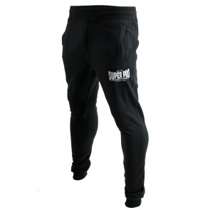 Super Pro Jogging Pants Zwart/Wit