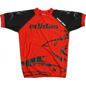 adidas Rashguard Red Shark Small (Kleding)