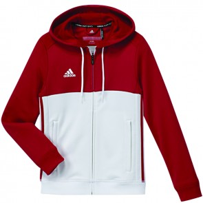 adidas T16 Team Hoodie Rood/Wit Youth