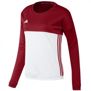 adidas T16 Crew Sweater Women Rood