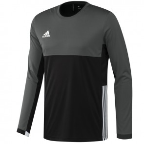 adidas T16 ClimaCool Long Sleeve Tee Men Zwart