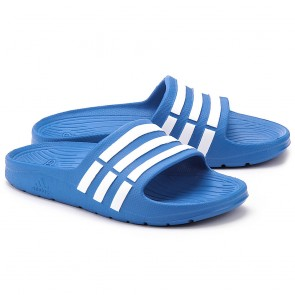 adidas Slippers Duramo Slide Junior Blauw